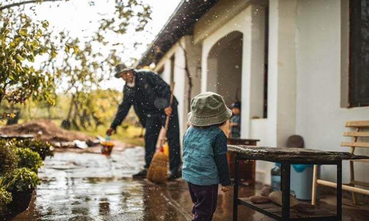 How To Fix A Flooded Backyard Yard Flooding Solutions