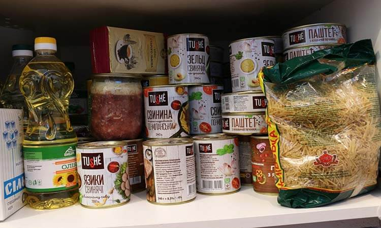 How To Store Emergency Food At Home Food Cache Tips