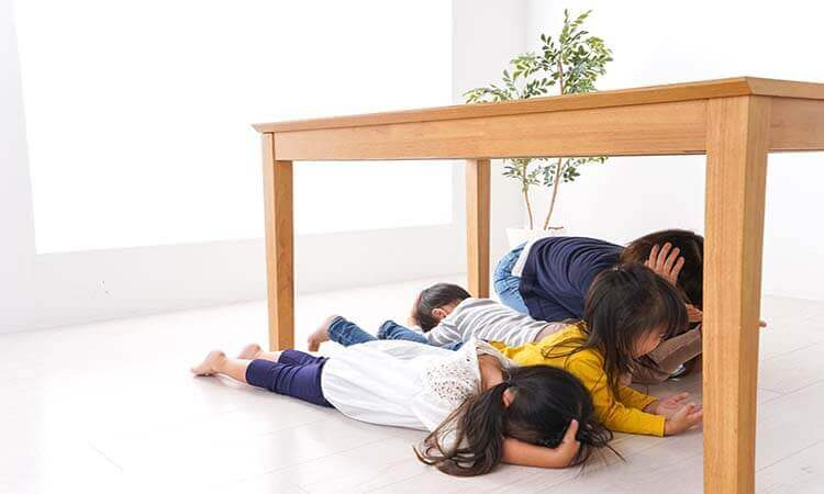 Whats The Safest Place To Be In During An Earthquake